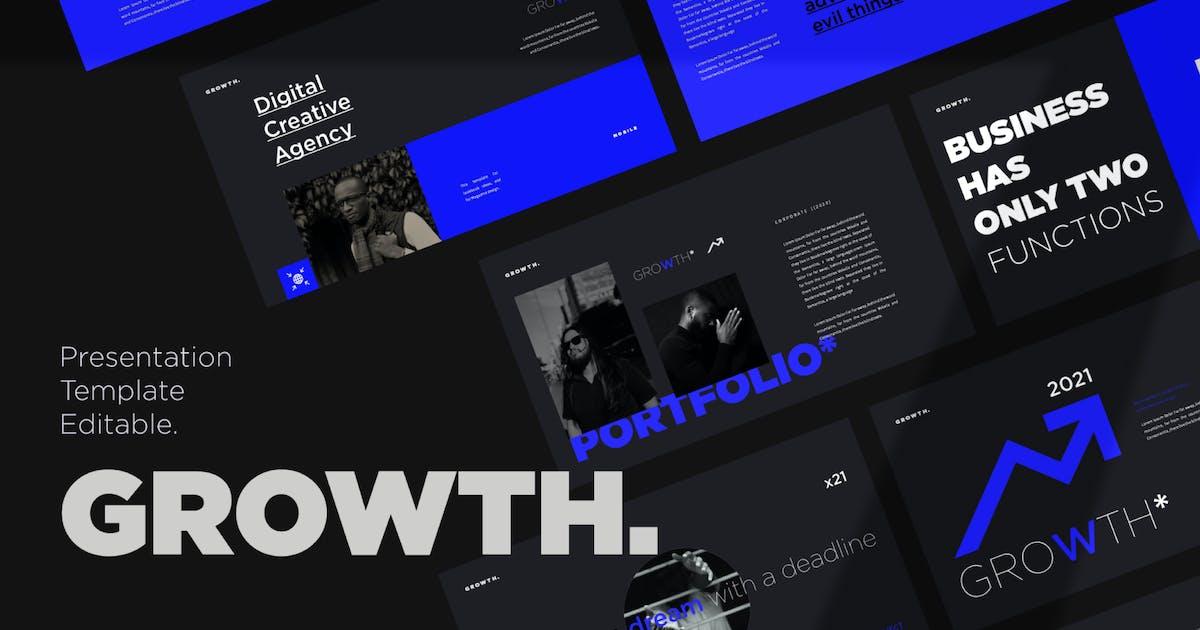 Download Growth Presentation Template by axelartstudio