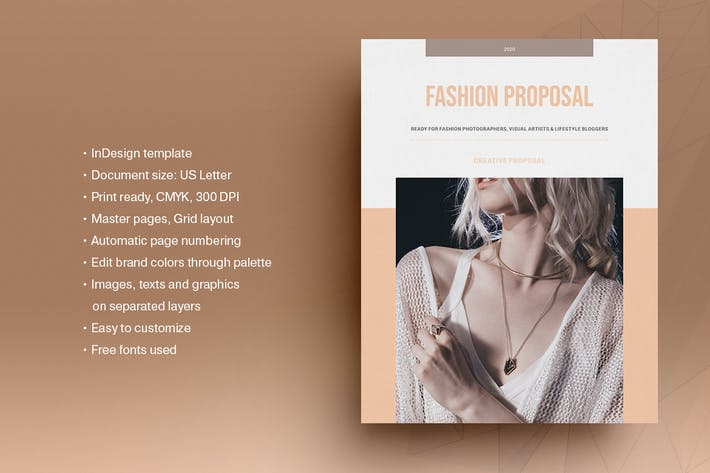 Thumbnail for Fashion Business Plan Template