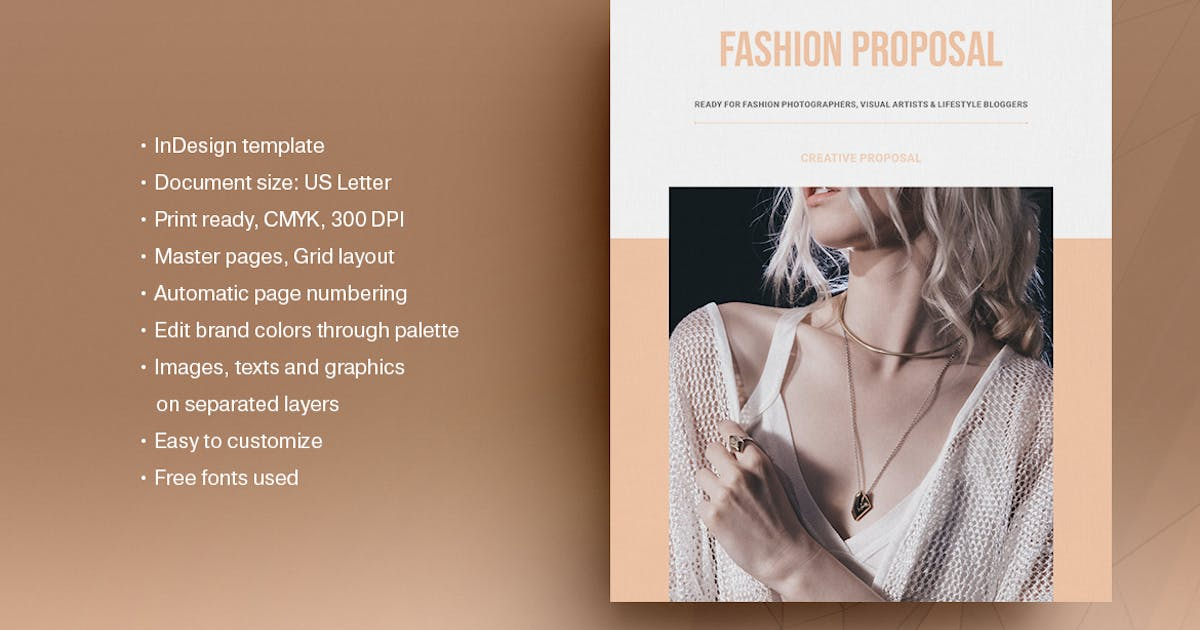 Fashion Business Plan Template By Boris Cupac On Envato Elements