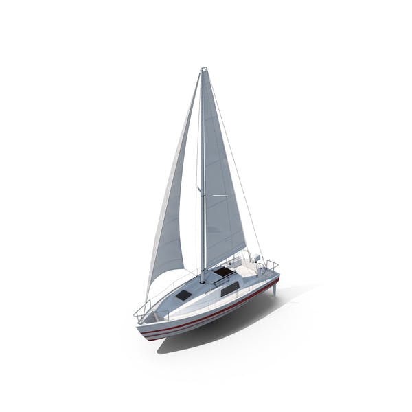 Thumbnail for Small Sailing Yacht