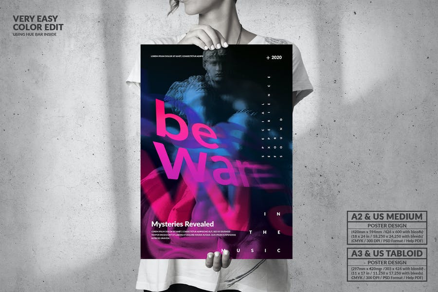 Music Party - Big Poster Design