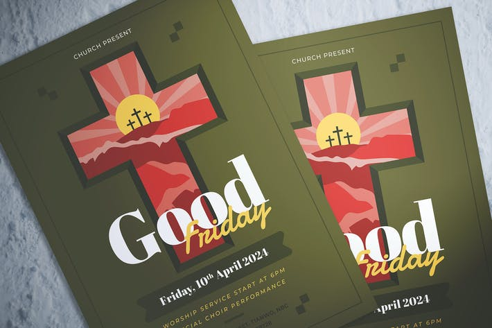 Thumbnail for Good Friday Celebration Flyer