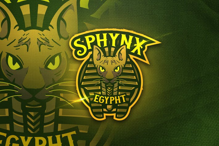Thumbnail for Sphynx Egypht -  Mascot & Sports Logo