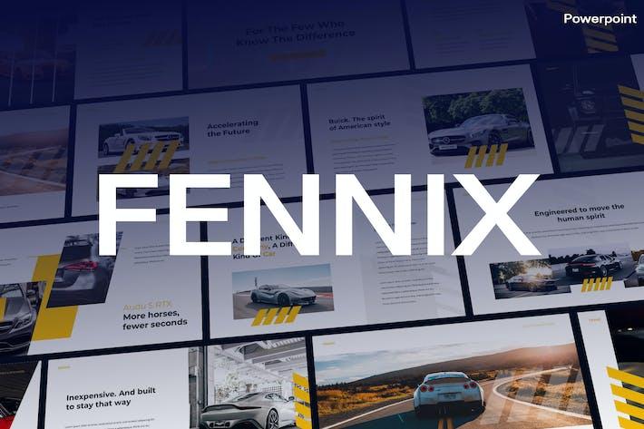 Thumbnail for Fennik - Business Theme Powerpoint