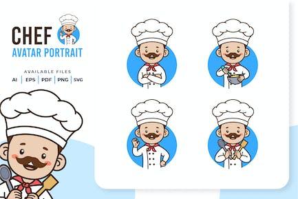 Chef - Avatar Portrait