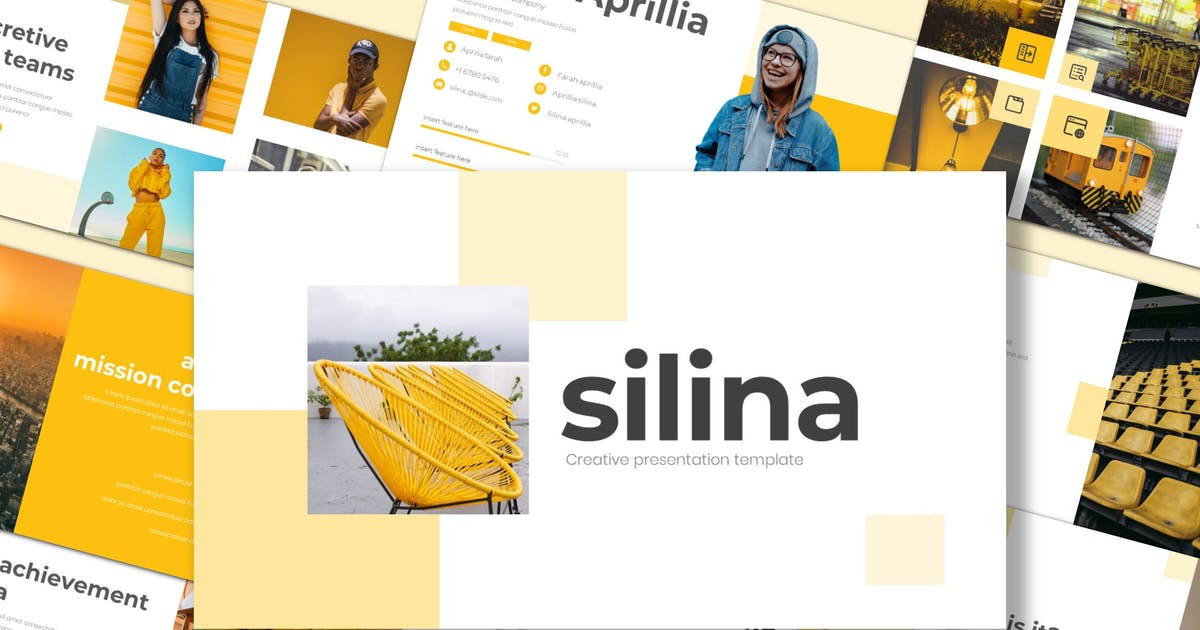 Download Silina - Keynote Template by inspirasign