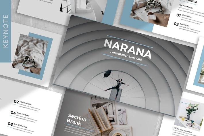 Thumbnail for Narana - Шаблон Keynote для бизнеса