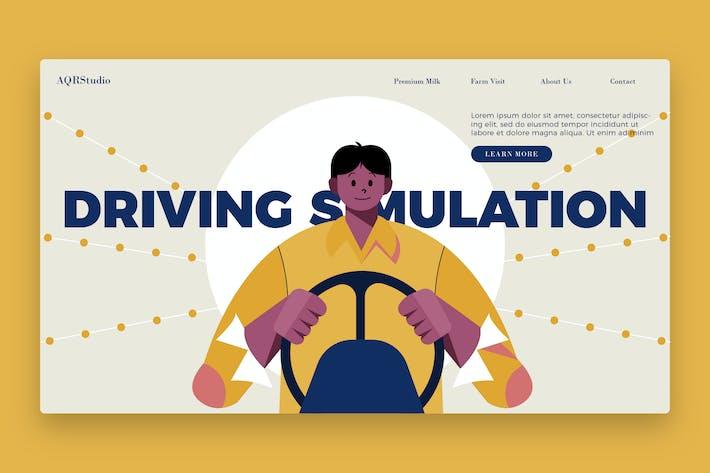 Thumbnail for Simulación de Drive - Banner y Página de destino