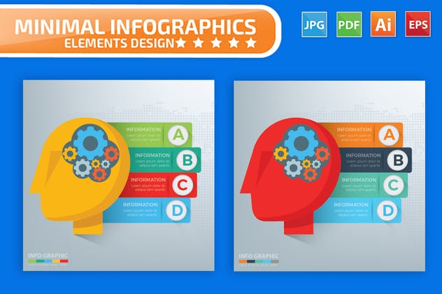 Idea Infographics Design - product preview 2
