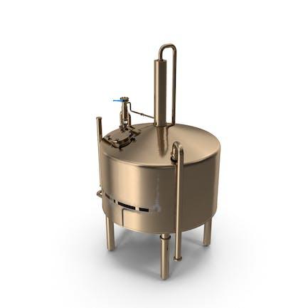 Destillation Kühltank