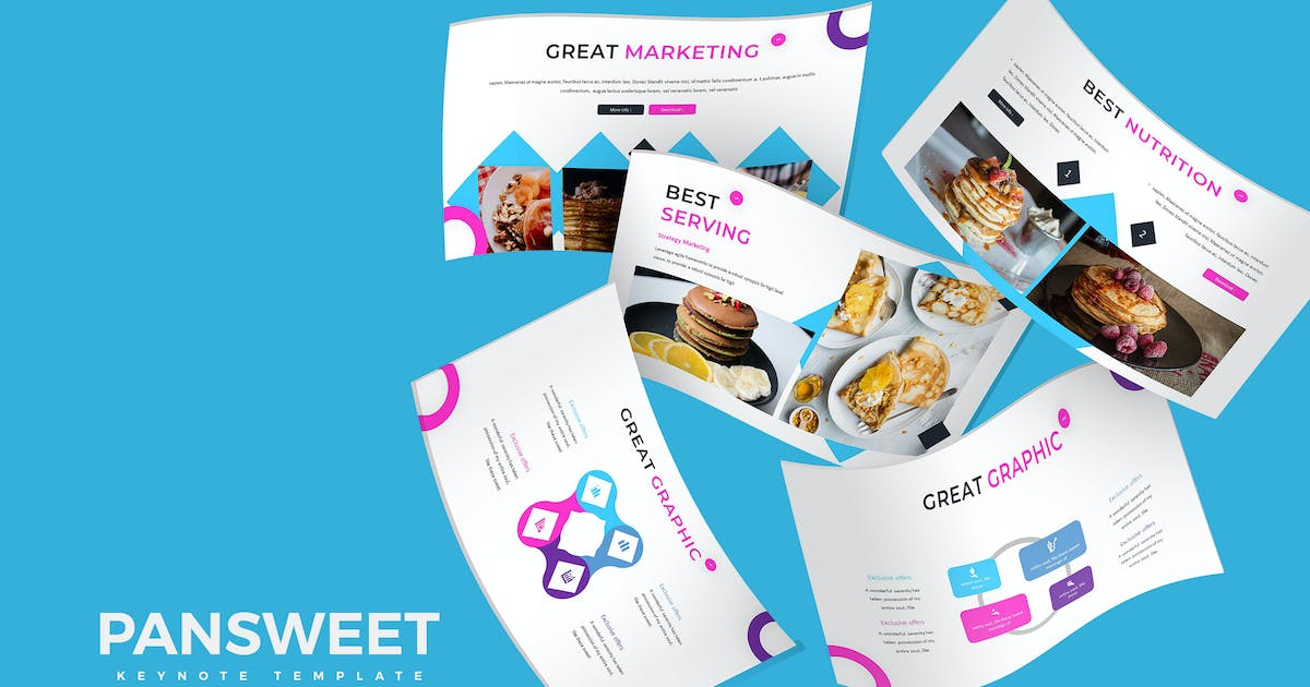 Download Pansweet - Keynote Template by aqrstudio