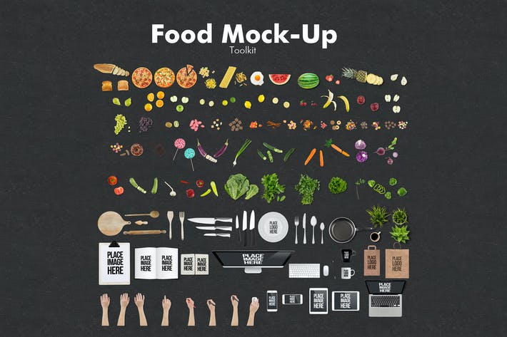 Thumbnail for Boîte à outils Maquette Alimentaire