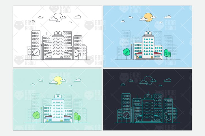 Thumbnail for City Buildings