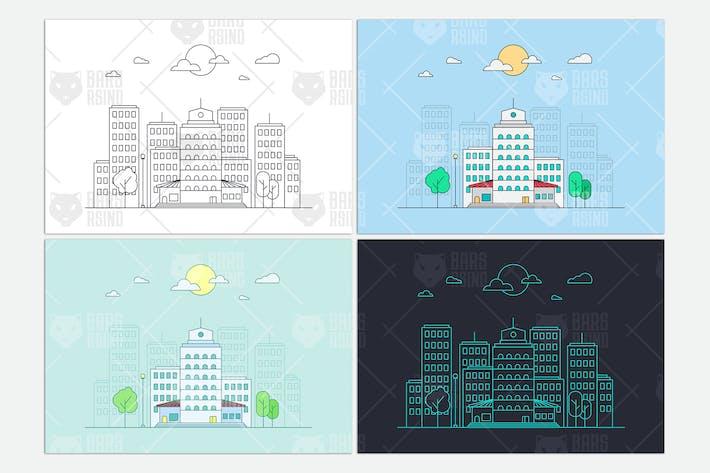 Thumbnail for Bâtiments de la ville