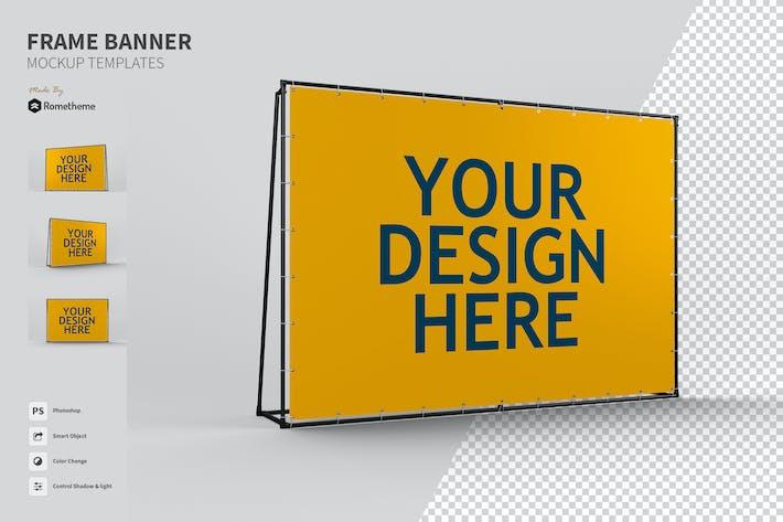 Thumbnail for Frame Ads Banner - Mockups FH
