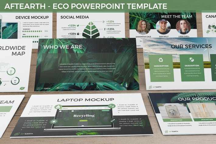 Thumbnail for Aftearth - Eco Powerpoint Template