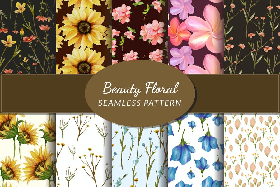 Beauty Floral Seamless Pattern