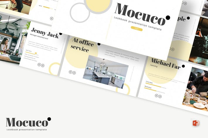 Thumbnail for Mocuco - Powerpoint Template
