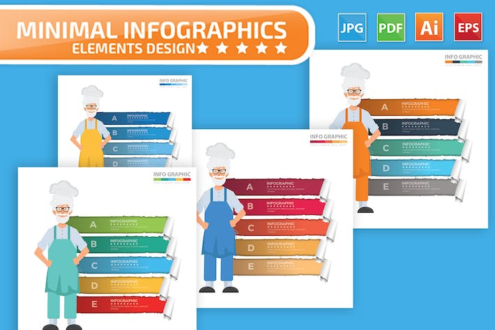 Thumbnail for Chef Infographics