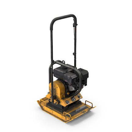 Gasoline Vibratory Plate Compactor Dirty