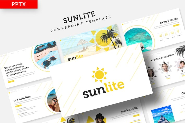 Thumbnail for Sunlite - Powerpoint Template