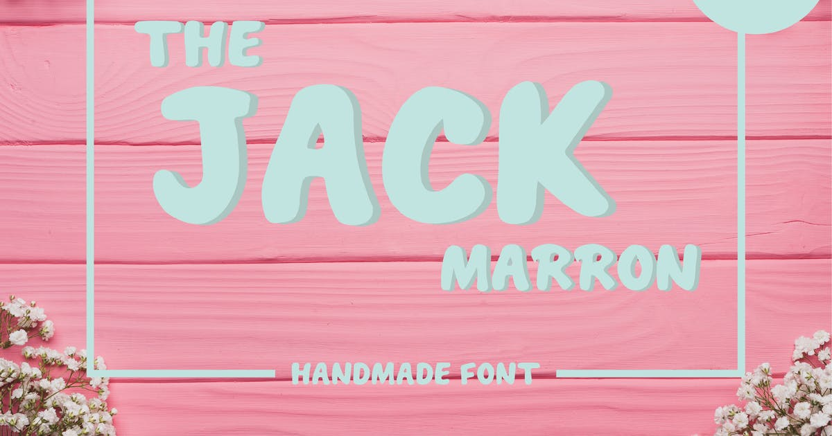 Download The Jack Marron Font v.FH27 by GranzCreative