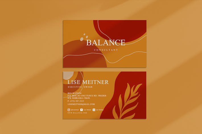 Thumbnail for Balance Business Card