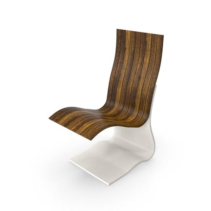 Stuhl aus gebogenem Holz
