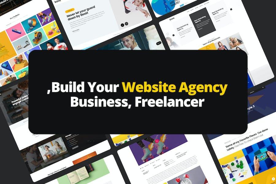 Build Your Website Agency, Business, Freelancer