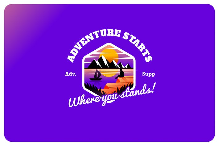 Thumbnail for adventure supply - Mascot & Esport Logo