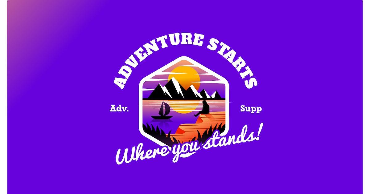 Download adventure supply - Mascot & Esport Logo by aqrstudio