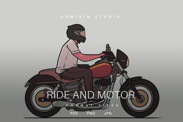 Thumbnail for Ride and Motor Illustration