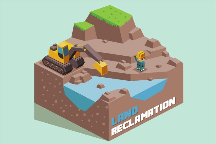 Thumbnail for Land Reclamation expanding
