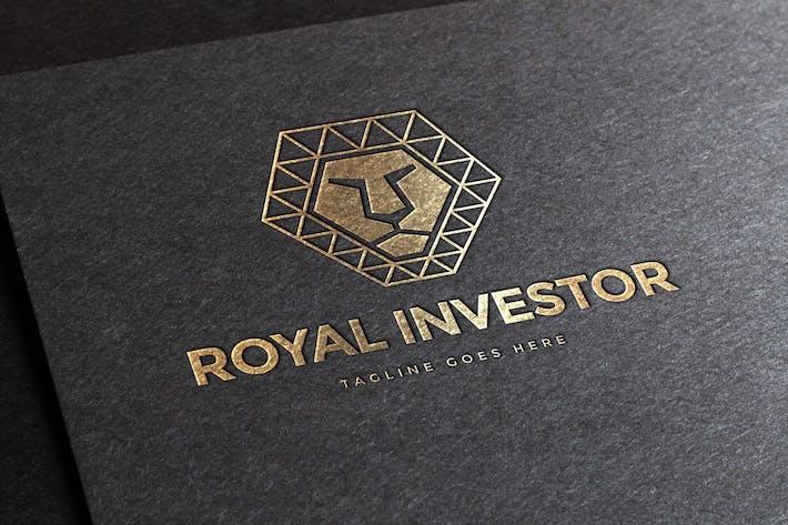 Cover Image For Royal Polygon Logo Template