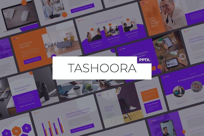 Thumbnail for Tashoora - Творческий Шаблон Powerpoint