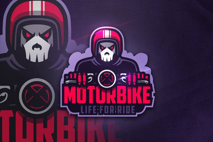 Thumbnail for Motorbike - Mascot & Esport Logo