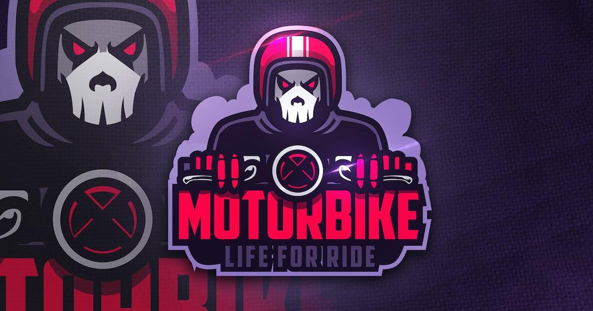 Download Motorbike - Mascot & Esport Logo by aqrstudio