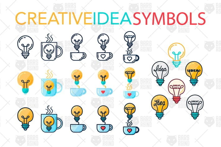 Thumbnail for Creative Idea Symbols