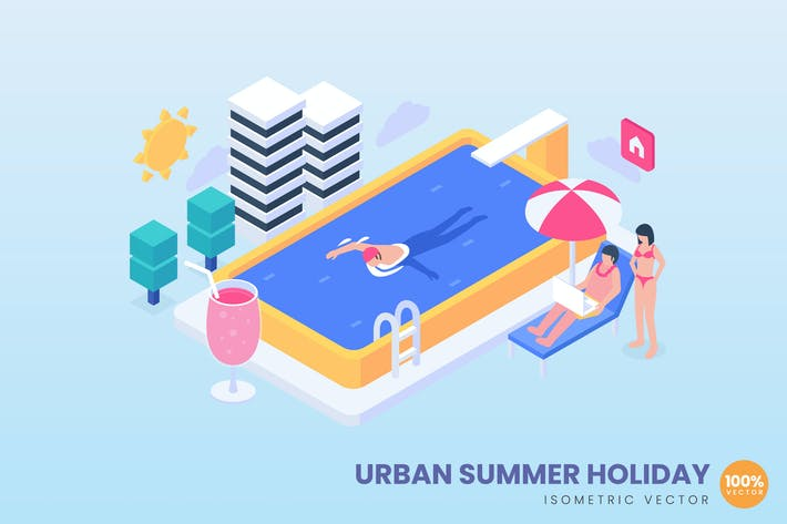 Thumbnail for Urban Summer Holiday Concept