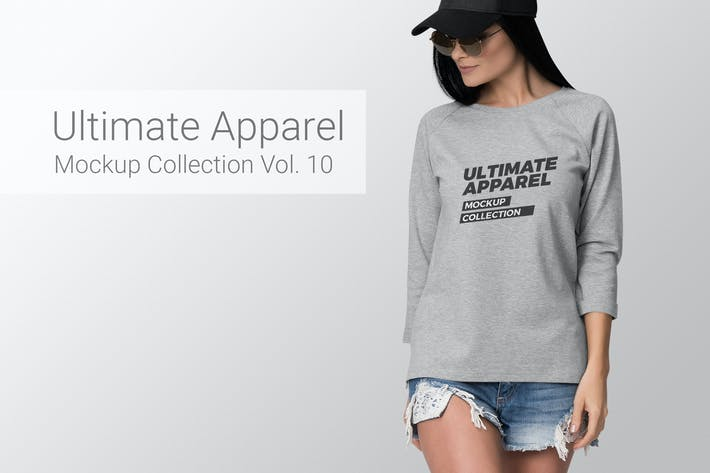 Thumbnail for Ultimate Apparel Mockup Vol. 10