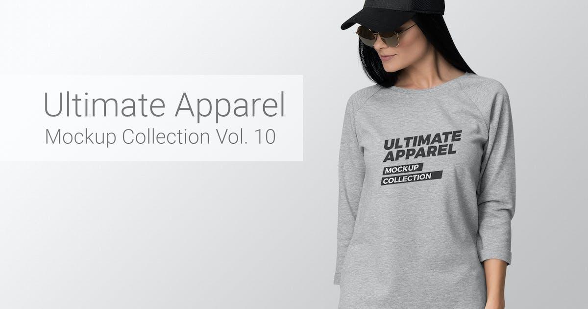 Download Ultimate Apparel Mockup Vol. 10 by Genetic96