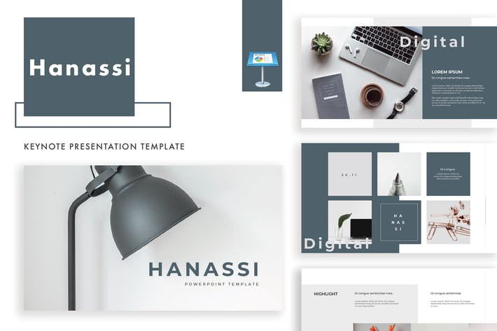 Thumbnail for Hanassi keynote template