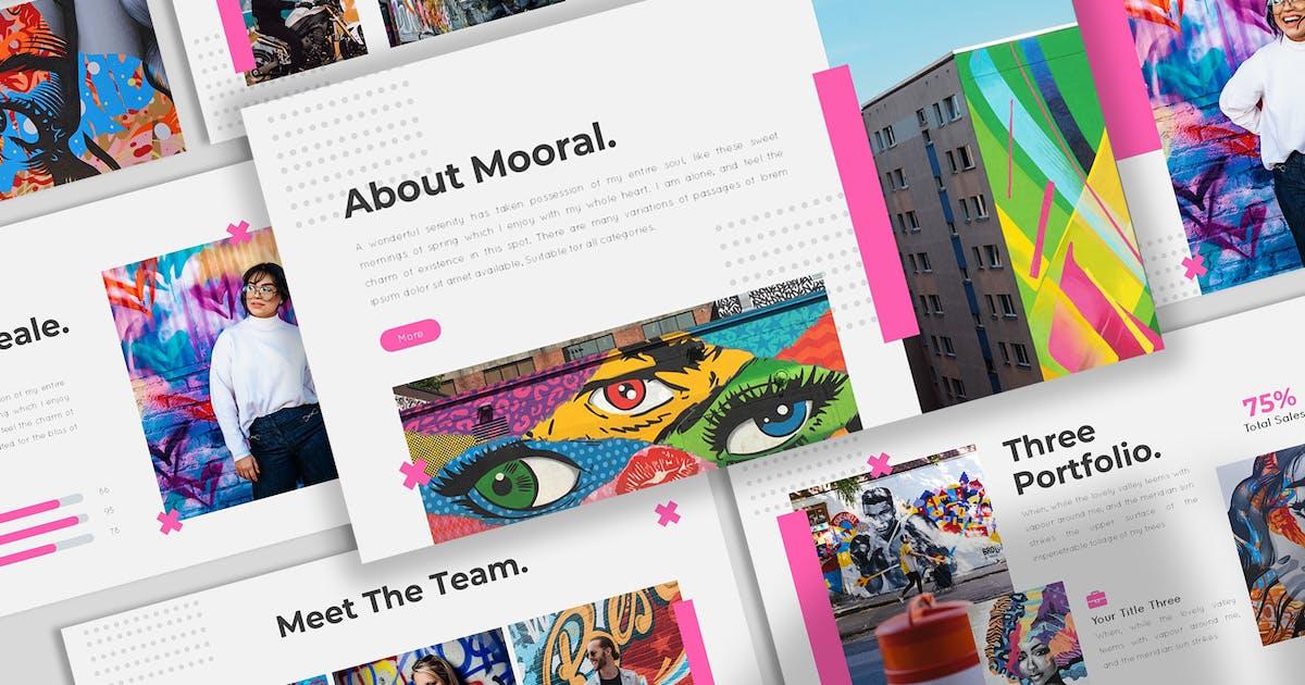 Download Mooral - Hipster Keynote Template by SlideFactory