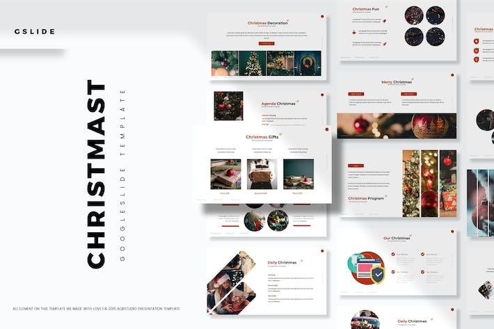 Thumbnail for Christmas - Google Slides Template