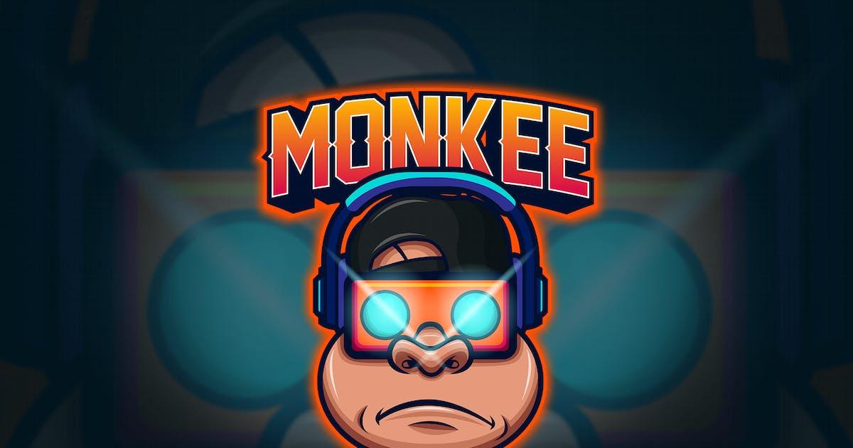 Download Monkey - Mascot & Esport Logo by aqrstudio