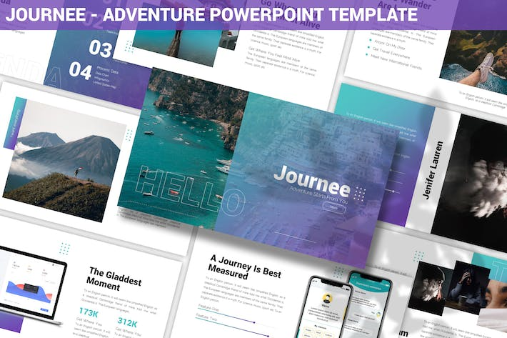 Thumbnail for Journee - Adventure Powerpoint Template