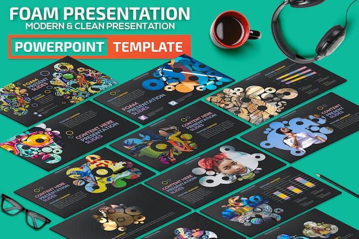 Thumbnail for Шаблон презентации пены Powerpoint