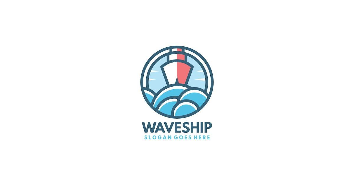 Download Wave Ship Logo by 3ab2ou