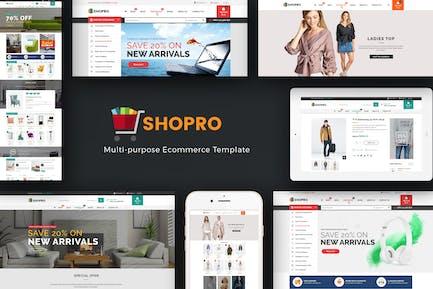Shopro - Mega Store Отзывчивый Prestashop Тема