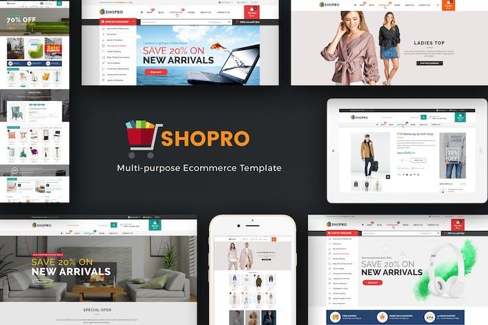 Cover Image For Shopro - Mega Store Responsive Prestashop Theme